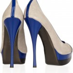 Versace zapatos color block 2011 4