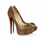 Christian Louboutin: Zapatos de mujer *Lady Peep 150*