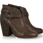 Rag & Bone: Botines de cuero 'Harrow'
