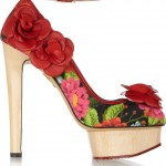 Charlotte Olympia zapatos floral 2012 3