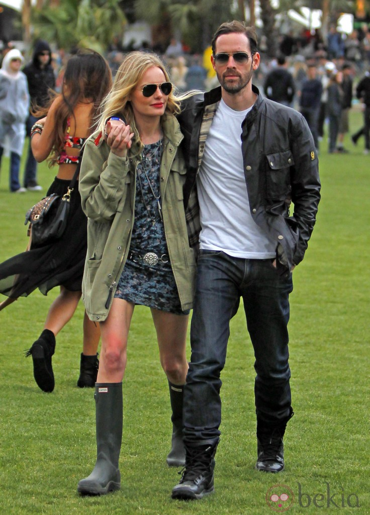 Botas Hunter, Kate Bosworth no se las quita