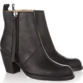 Acne: Botines de cuero 'The Pistol'