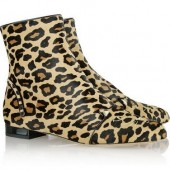 Charlotte Olympia: Botines print animal 'Puss in Boots'
