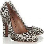 Alaïa: Zapatos Animal-print 2013